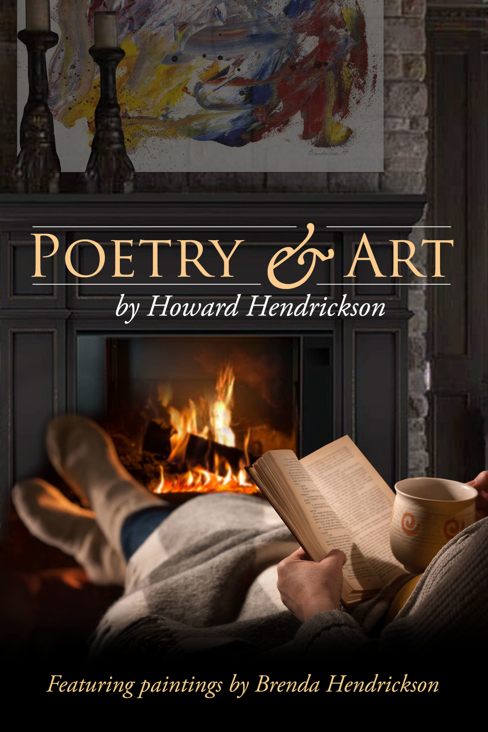 poetry and art book cover